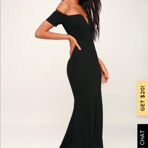 Black Lulu dress